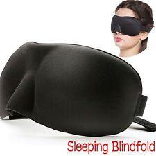 Soft Eye Sleep Mask Shade Cover Rest Travel Relax Sleeping Blindfold