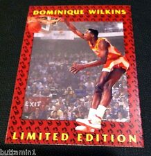 DOMINIQUE WILKINS 1992 Fleer Limited Edt. TEST Pre-Production RARE Card SSP #1
