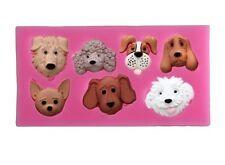 Dog Silicone Mould for Sugar Craft, Fondant, Cake Decorating ,Baking etc