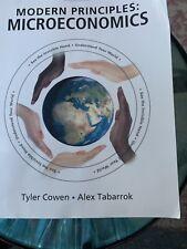 Modern Principles of Microeconomics by Alex Tabarrok and Tyler Cowen (2014,...