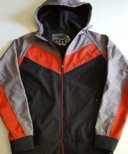 FOX Tech Men's Medium Jacket FX-Bionic Series Zip Up W/ Hood Red/Black/Gray