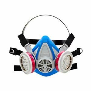 MSA Advantage 290 10217166 Half-Mask Respirator & 1 PR 815369 P1OO Filter MEDIUM