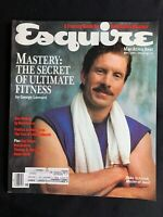Esquire Magazine May 1987 - Mike Schmidt, Edwin Edwards