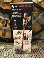 Dyson Cyclone V10 Motorhead Bagless Cordless Vacuum Cleaner, Red *NEW