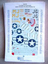 48-642 P-47D/M Thunderbolts 509th FS/405th FG, 62nd FS/56th FG