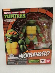 "Bandai SHFiguarts Teenage Mutant Ninja Turtles Michelangelo 6"" Tall Approx"