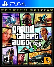 Grand Theft Auto V Premium Edition Playstation 4 Ps4 - Brand New - Free Shipping