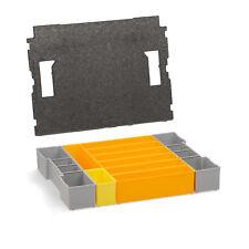 Bosch Sortimo Insetboxen-Set F3 für L-Boxx inkl. Deckelpolster