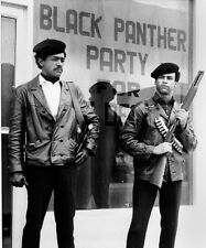 HUEY NEWTON & BOBBY SEALE GLOSSY POSTER PICTURE PHOTO PRINT BLACK PANTHER PARTY