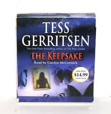 BOOK/AUDIOBOOK CD Tess Gerritsen Fiction Novel Thriller THE KEEPSAKE