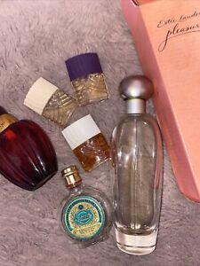 Vintage Perfume Bundle Estée Lauder , N04711 , Etc