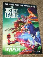 Justice League IMAX 13x19 Promo Movie POSTER