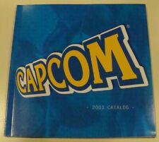 Molto RARO E3 2003 CAPCOM CATALOGO... menta... Gotcha Force, MEGA MAN, Resident Evil.