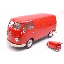 Volkswagen VW T1 Bus 1963 Panel Van Red 1 18 Model 18053r Welly