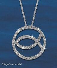 New ListingFranklin Mint Eternal Hope Crystal Pendant D4J8751