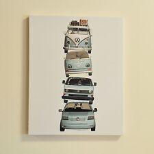 Oficial Volkswagen Para Vw tela pared arte Dormitorio Kids 50x40cm 54008