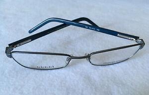 GUCCI NEW! Eyeglasses GG2733 23D Frames 53-17-135 Silver/Blue 0583 0584 0585