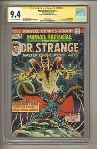 Marvel Premiere 14 (CGC Signature Series 9.4) OW/W Pages; Frank Brunner! (j 201)
