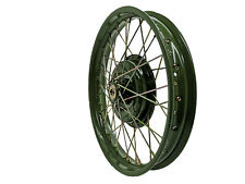 Speichenrad 2,15x19 vorn Grün für URAL M72 K750 BMW R71 Chang Jiang Felge