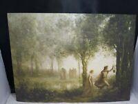Orpheus leading Eurydice from the Underworld, Jean-Baptiste-Camille Corot.