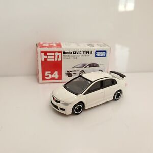 Rare Takara Tomy Honda Civic Type R Sedan #54 White 2007