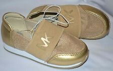 MK MICHAEL KORS MK GOLD WHITE ALEXIA TUSCON -T BABY BOY BOYS SHOES SNEAKERS 7 NW