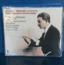 ARTHUR FIEDLER conducts Rimsky-Korsakov, Brahms, & Pachelbel NEW CD