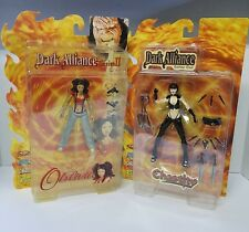 Art Asylum 2001 Dark Alliance Oblivia and Chastity Set of 2 Action Figures