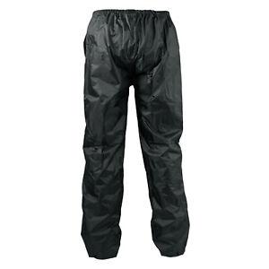 Pantalon 100% Impermeable Motard Moto Unisex Protection Pluie Unisexe