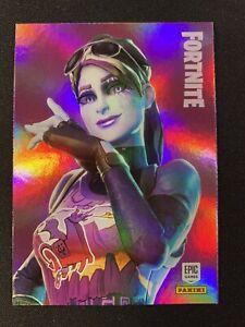 Panini Fortnite Series 1 -  #166 Dark Bomber HOLO FOIL 🔥 Printed In The USA 🔥