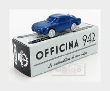Fiat Abarth 750 Coupe Zagato 1956 Blue OFFICINA-942 1:76 ART2006B