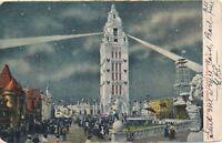 BROOKLYN NY – Coney Island Dreamland By Night – udb – 1906