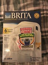 brita 6 Glass water filter pitcher