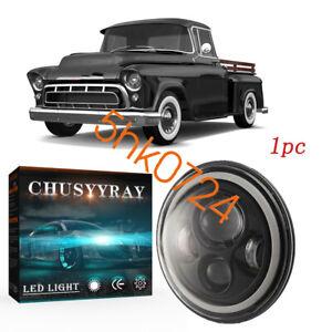 "For Chevrolet Pickup C10 C20 C30 K10 K20 LUV 7"" LED Headlight Hi Lo beam & DRL"