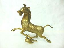 VINTAGE ANTIQUE CHINESE BRONZE MING TANG ? STYLE HORSE STATUE