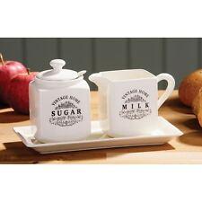 Vintage Home Sugar and Milk, Cream Ceramic