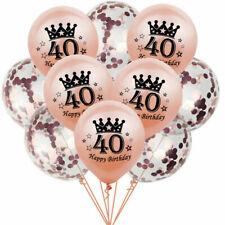 10pc 12'' Confetti Birthday Balloons 16 18 30 Latex Balloon Wedding Party Decor