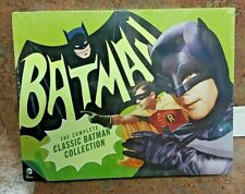The Complete Classic Batman Collection: Limited Edition DVD Box Set NEW
