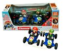 🔥 2021 Carrera RC Mario Kart Mach 8 Mario & Luigi RC 1:18 Scale Cars 2-pack 🔥