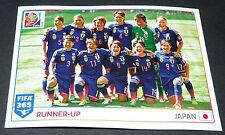 68 EQUIPE FEMININE JAPON JAPAN NIPPON PANINI FOOTBALL FIFA 365 2015