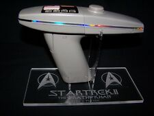 acrylic display stand for Diamond Select Star Trek Wrath of Khan Phaser