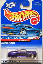 HOT WHEELS 1998 FIRST EDITIONS TAIL DRAGGER #24/40 PURPLE