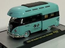 1959 VW Double Cab Truck USA Model MJS05 17-10 1:64 Scale M2 32500