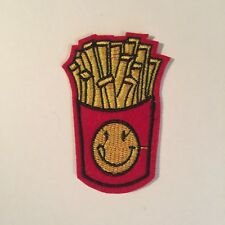 HAPPY FACE FRENCH FRY PATCH