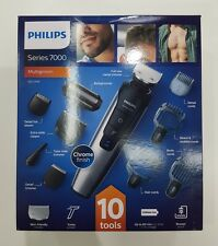 PHILIPS NORELCO SERIES 7000 MULTIGROOM WET & DRY TRIMMER - QC3398/13 BRAND NEW +