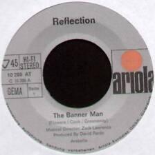 "[ROGER COOK / GREENAWAY] REFLECTION ~ BANNER MAN ~ 1971 GERMAN 7"" SINGLE"