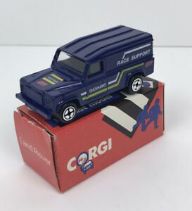 New Corgi Junior model Land Rover Duckhams QXR oil 1985 (MIB)