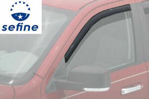 AVS Window Vent Visor For 1980-96 Ford Bronco F150 F250 F350 Standard Cab 192068