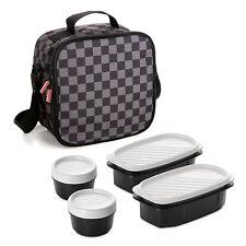 Bolsa Térmica Porta Alimentos + Tápers Tupperware Microondas Lavavajillas NUEVA