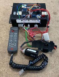 Federal Signal GEP500 Control Unit With Keypad & Siren & PA & Signal Master